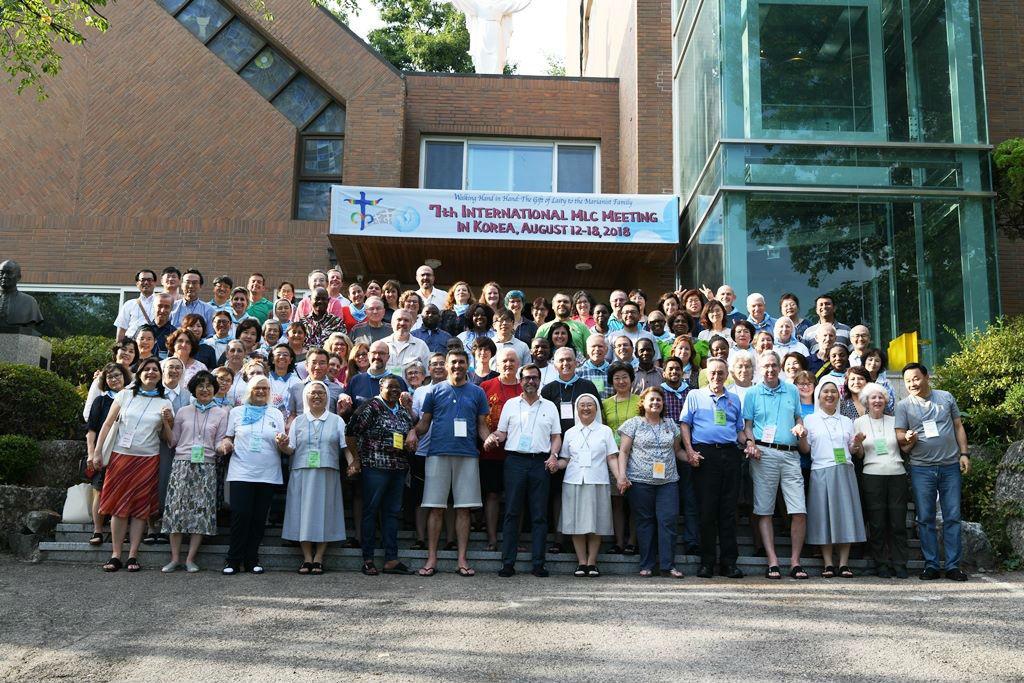 Participants à la 7ème rencontre internationale des CLM en Corée